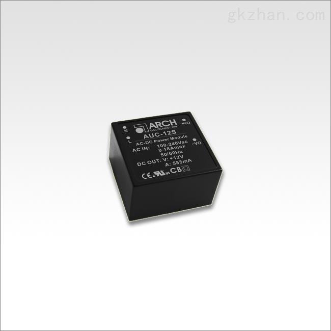 7瓦系列频开关电源模块AUC-5S AUC-12S