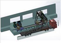袋装饲料自动装车机 粮食机械手装车系统
