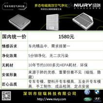 别克GL8专用NIURY电子空调滤芯