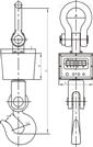 ocs-xc-kc無線電子吊稱