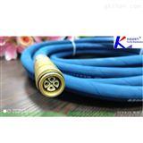 矿用液压支架混合通讯电源光缆连接器8芯