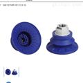 SAB 60 NBR-60 G1/4-IGSCHMLAZ波纹吸盘适用光滑表面