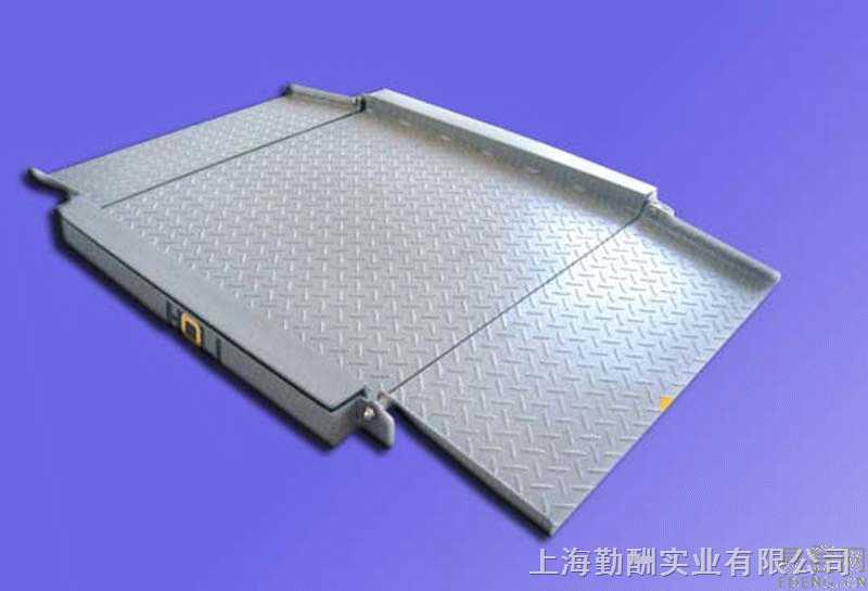 2吨带引坡地磅秤生产厂家-3吨电子地磅秤-5吨地磅秤价格