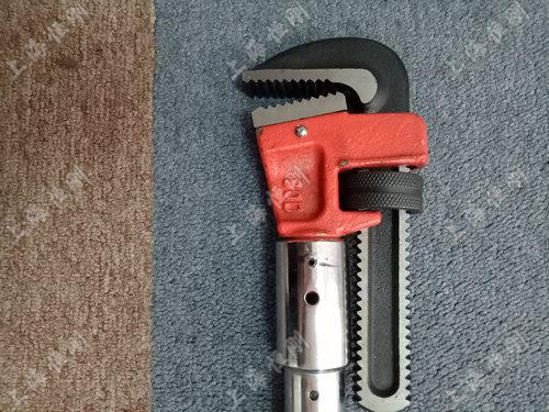 数显扭力扳手力矩值可预设   可换管钳头