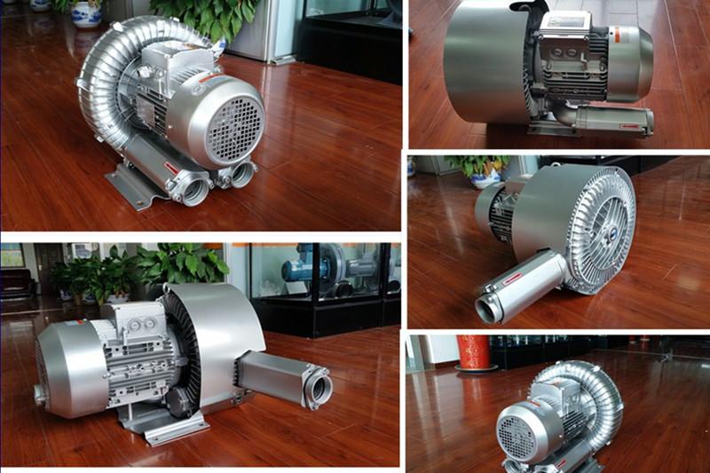 污水处理双段 双级高压风机 曝气用风机 化工废水曝气漩涡气泵示例图3