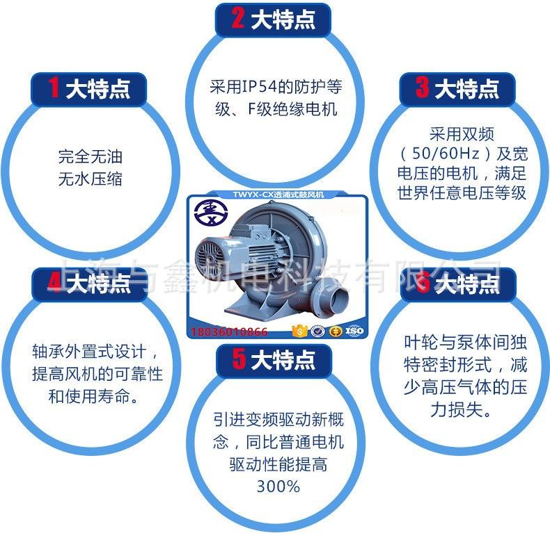 江苏全风燃烧机风机 TB-125燃烧机风机 燃烧机风机生产厂家示例图6
