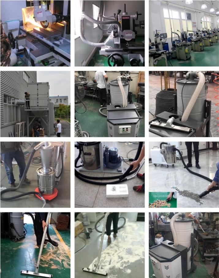 SH2200工业吸尘器大功吸尘器  木屑粉尘两用吸尘器 工业移动式吸尘器 金属铝屑吸尘器示例图6