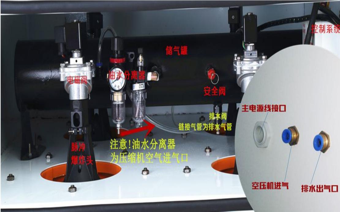 <strong>医药器械包装设备工业脉冲粉尘集尘机</strong> 装袋喷砂作业集尘器示例图26