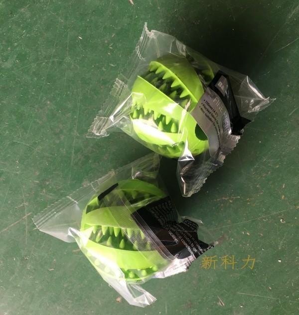 唐氏智能垒球自动包装机 棒球包装机,球形物料包装机  深圳垒球套袋包装机示例图2