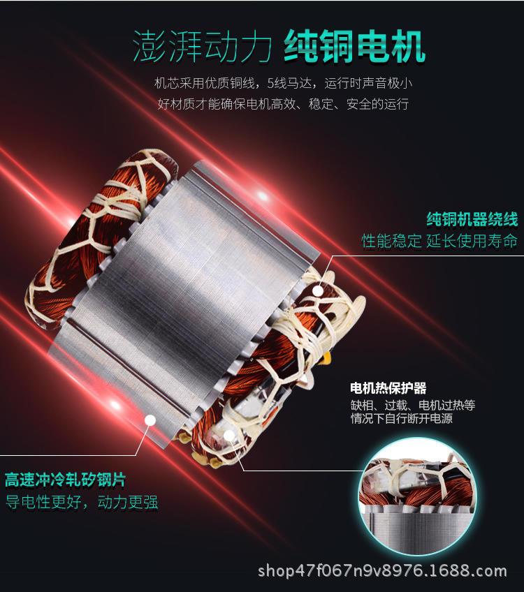 大吸力全风旋涡气泵 YX-51D-2真空上料漩涡气泵 粮食仟样机用双叶轮漩涡气泵示例图6