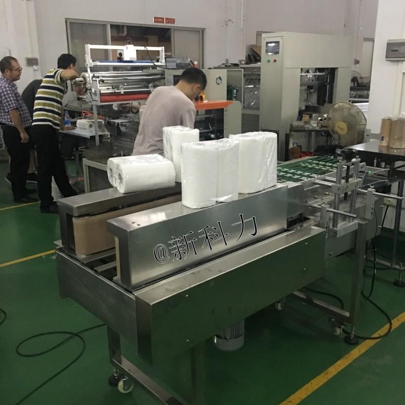 唐氏智能2个厨房卷纸套袋机  双卷纸包装机 厨房大卷纸包装机    4个卷纸自动包装机示例图2