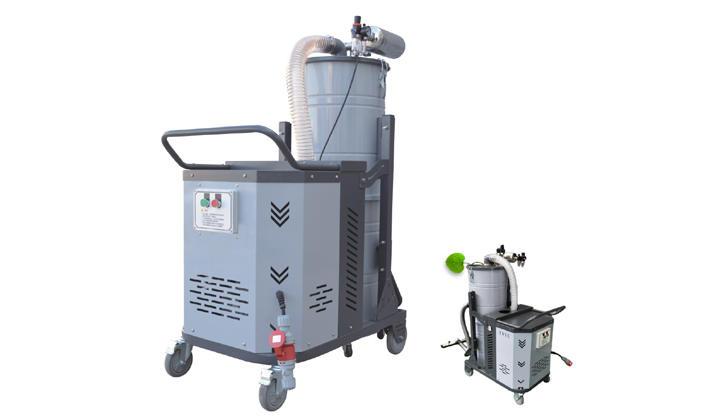 车间移动式吸尘器 清洁设备吸尘器 4KW加工零件粉尘吸尘器示例图1