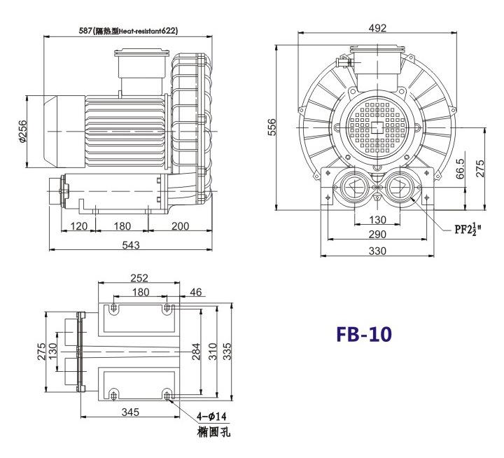 昆明防爆高压鼓风机 5.5KW防爆高压鼓风机 大量现货示例图18