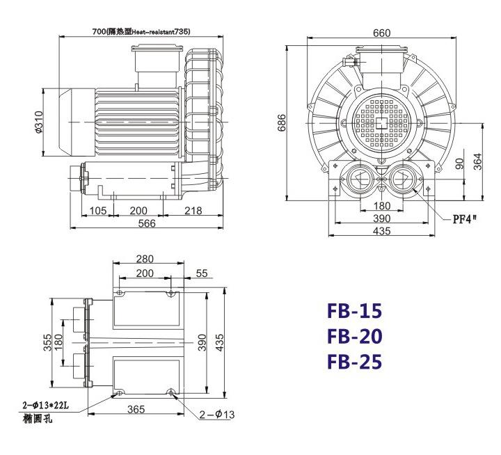 昆明防爆高压鼓风机 5.5KW防爆高压鼓风机 大量现货示例图19