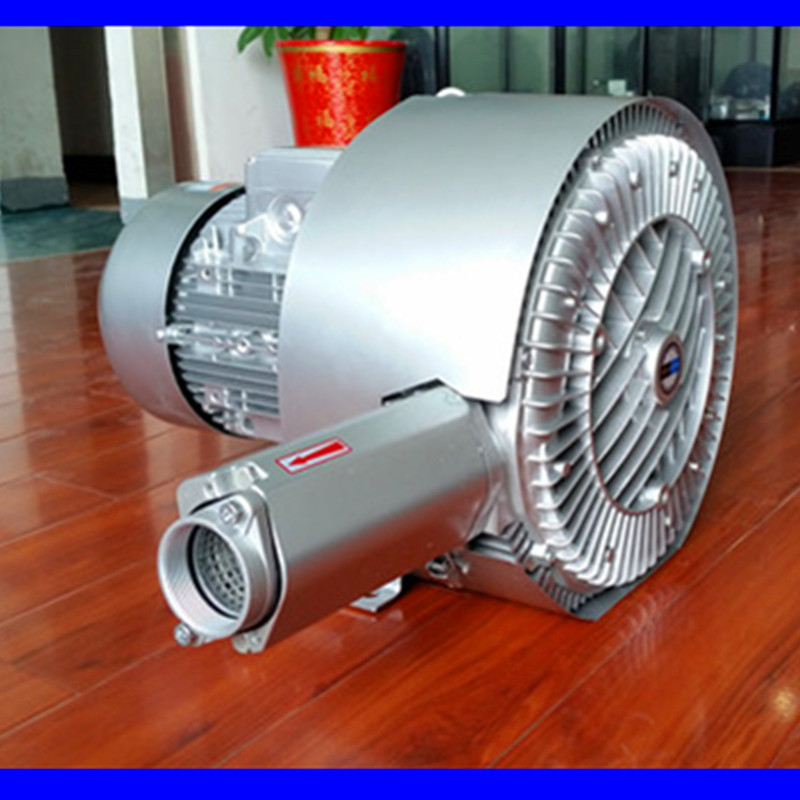 双段高压风机 双叶轮旋涡高压鼓风机 厂家漩涡高压气泵示例图3