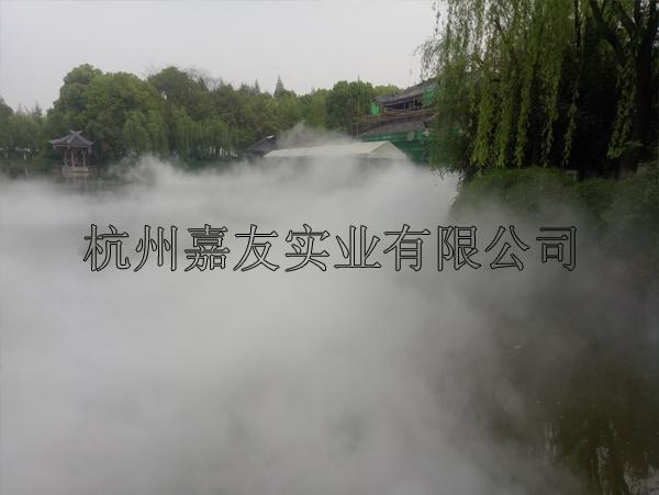 公园雾森系统