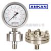 上海/杭州/Y-150B/FZ/GL/ML 螺纹式隔膜压力表/防腐/耐震/
